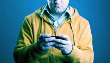 mobiel video in handen persoon